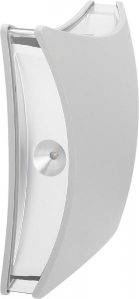 Smartwares OD2-FLA-SW LED wandlamp - 4 lichtpunten - aluminium
