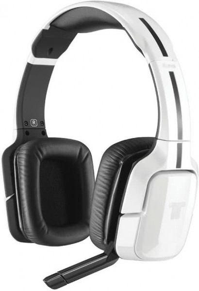 Tritton Kunai Wireless Stereo Gaming Headset - Wit (PC + MAC + PS3 + PS4 + Xbox 360 + Wii U + Mobile