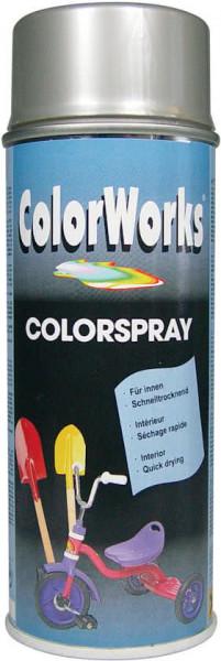 Colorworks Colorspray - Hoogglans - 400 ml - Zilver