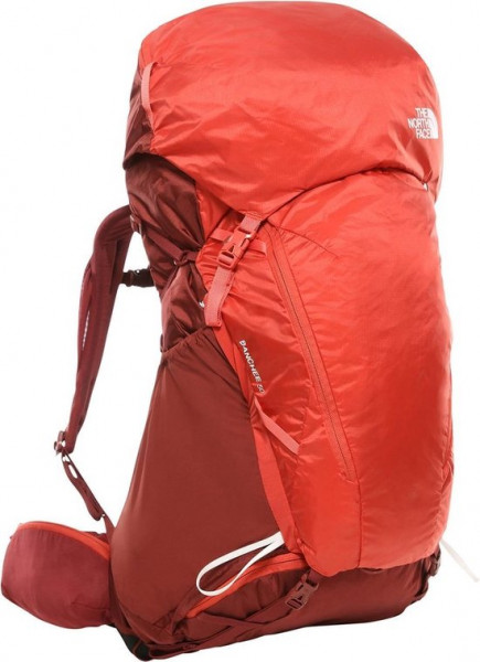 The North Face 50 Liter Banchee Backpack Dames - Barolo Red/Sunbaked Red - Maat M/L
