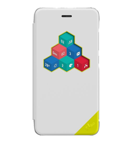 Wiko view cover voor Wiko Lenny 3 - wit