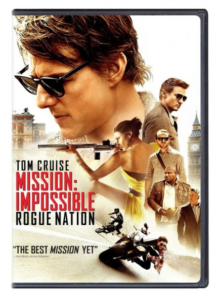 Mission: Impossible 5 - Rogue Nation - dvd