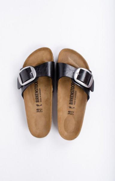 Birkenstock Madrid Graceful Dames Slippers Small fit - Zwart - Maat 42