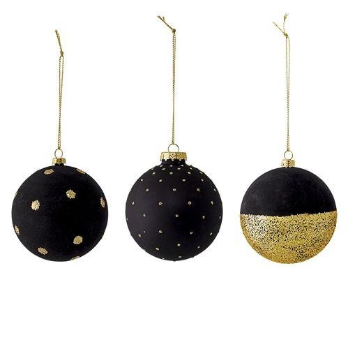 Bloomingville kerstballen - set van 3