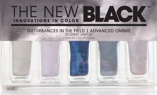 The New Black Advanced Ombre - Stormy Vapor - Nagellak