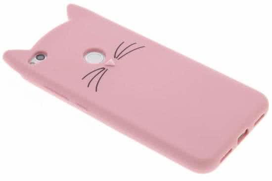Smartphonehoesjes.nl Kat TPU hoesje Huawei P8 Lite (2017) / P9 Lite (2017)