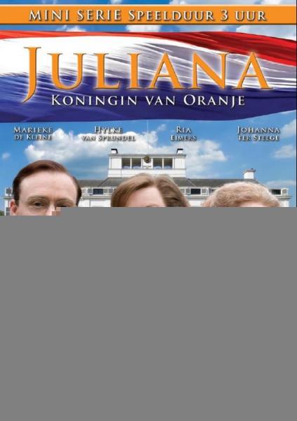 Juliana koningin van Oranje- miniserie - DVD