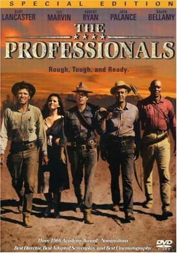 THE PROFESSIONALS (1966) - DVD