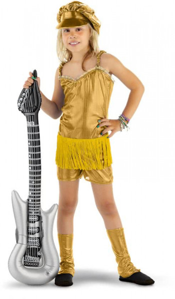 Rocker Girl Pakje Goud 3-delig Meisjes - 134-152