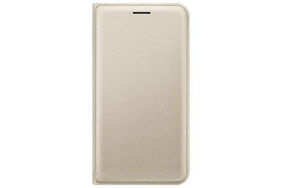 Samsung flip wallet - goud - voor Samsung Galaxy J120