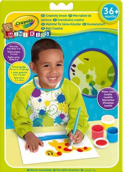 Crayola Mini Kids Verfschort lange mouw