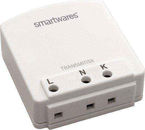 """Smartwares Smarthome SH5-TBR-A Transmitter geschikt voor binnen €"""" wit"""
