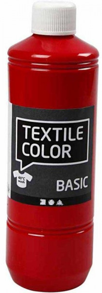 Textile Color rood 500 ml