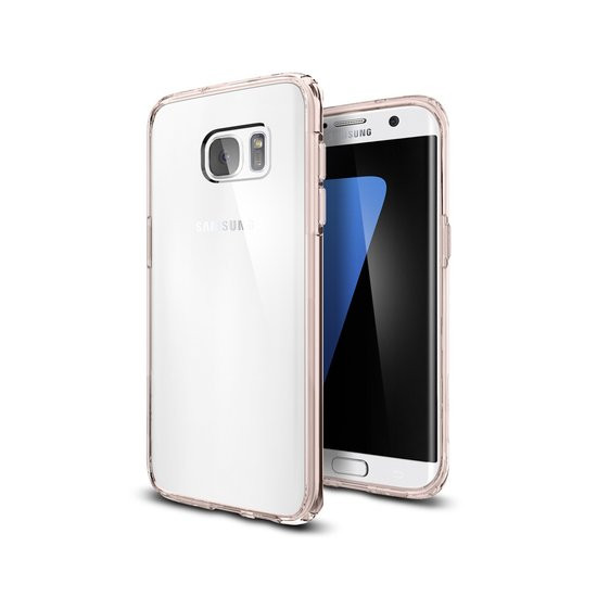 Spigen Ultra Hybrid Case Samsung Galaxy S7 edge - 556CS20035 - Rose Crystal