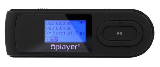 Nikkei NMP3BK 4GB Digitale Audio-speler met radio en recording functie