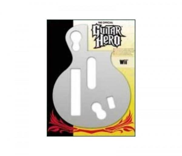 Wii Guitar Hero Faceplate Chrome
