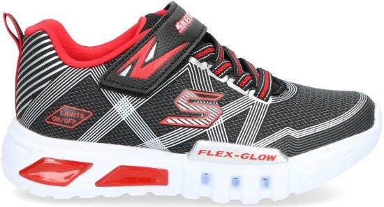 Pasmodel - Skechers Flex Glow Jongens Sneakers - Multi/Zwart - Maat 27