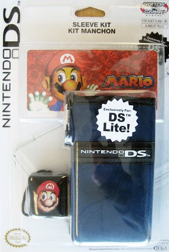BG Games NDS Lite Mario Sleeve Kit