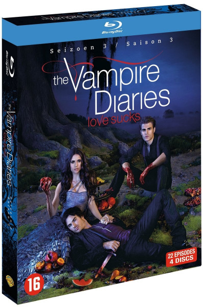koopjeshoek - The Vampire Diaries - Seizoen 3 (Blu-ray)