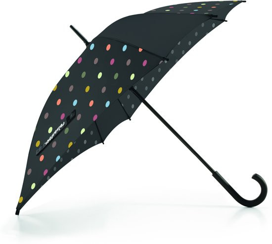 Reisenthel Umbrella - Paraplu - Windresistent - Polyester / hout - Dots