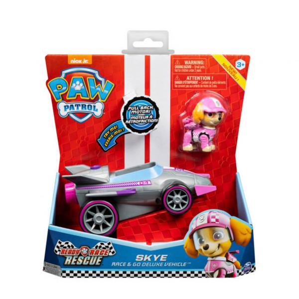 Paw Patrol - Race & Go Deluxe Vehicles - Skye Racer