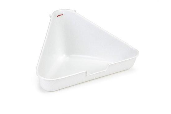 Toilet voor knaagdieren, hoekmodel - Graniet