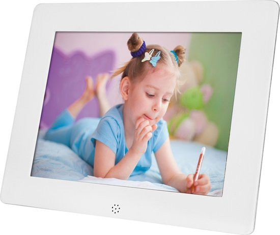Koopjeshoek - Rollei, Pictureline 8100 Digital Photo Frame (8 inch / 20,3 cm) Digital Photo Frame (W