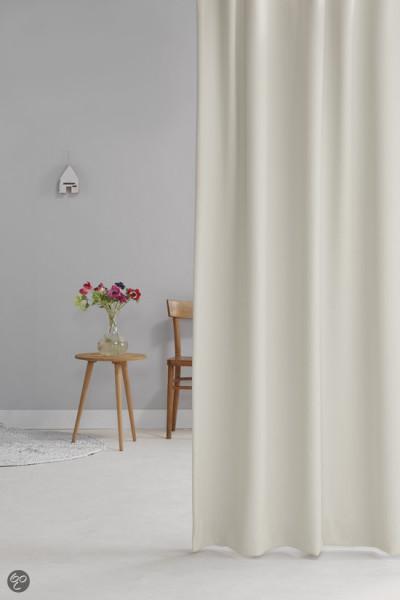 Wout - Plooigordijn - Offwhite - 140x280 cm - Per stuk
