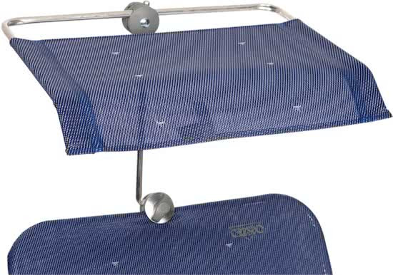 Crespo - Zonnescherm - P-199 - Universeel - Donker blauw