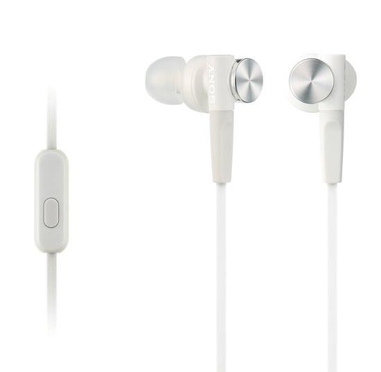 Sony MDR-XB50AP - In-ear koptelefoon - Wit