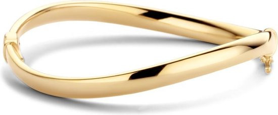 Casa Jewelry Bangle Pits - Zilver - Goud Verguld
