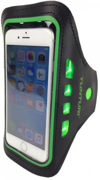 Koopjeshoek-Tunturi - Armband - Telefoon - LED - Groen