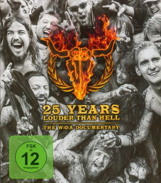 25 Years Louder Than Hell ( Blu-ray)