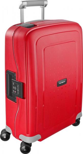 Samsonite Reiskoffer - S'Cure Spinner 55/20 (Handbagage) Crimson Red/Black