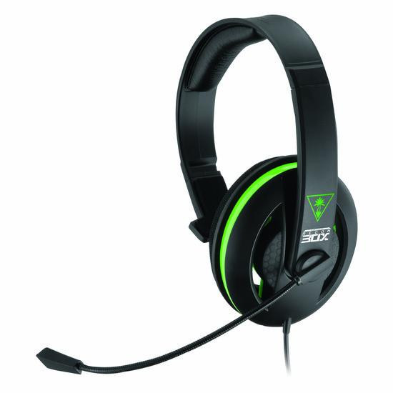 """Turtle Beach Ear Force Recon 30X Wired Mono Chat Gaming Headset €"""" Zwart (Xbox One + PC + Mac + PS4"""