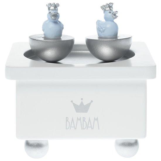 BamBam Muziekdoosje Eendjes - Blauw
