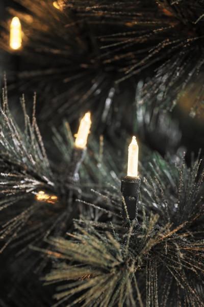 Konstsmide 6020 - Snoerverlichting - 80 lamps LED pizello - 1185 cm - 24V - voor buiten - warmwit
