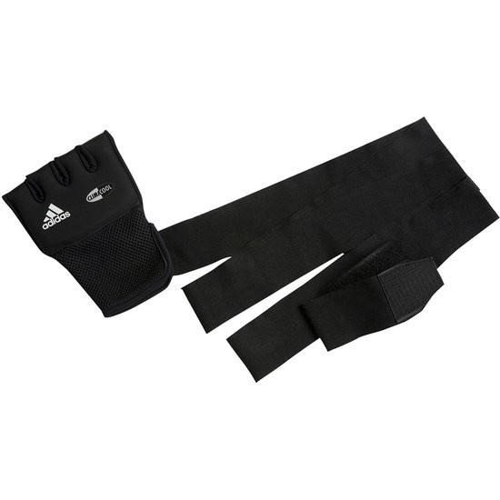 Koopjeshoek - adidas Mexican Quick Wrap Gloves - Binnenhandschoen - S/M - Zwart