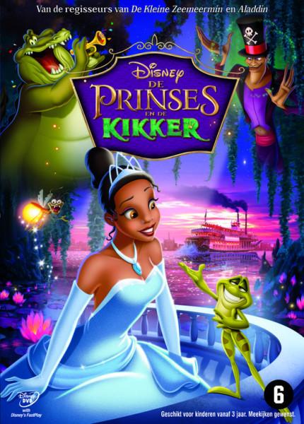 De Prinses En De Kikker (DVD)