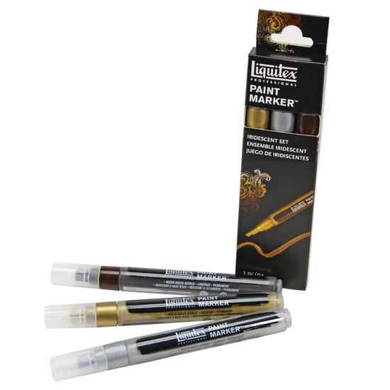 Liquitex Paint Marker Iridescent Set