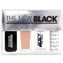The New Black Typography - Weekly Journal - Nagellak