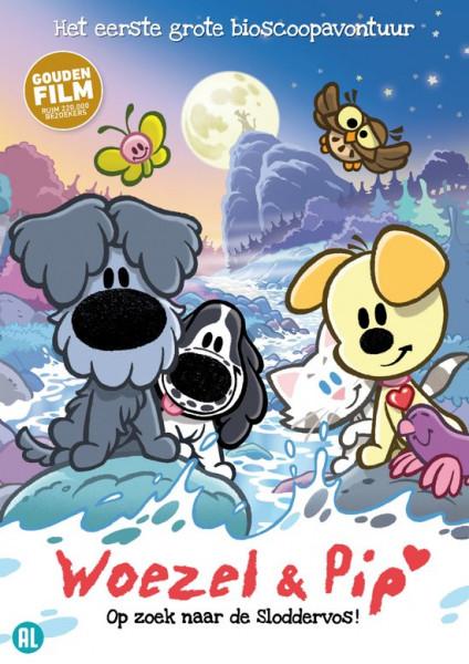 Woezel & Pip: Op zoek naar de Sloddervos - DVD